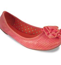 Lindsay Phillips Liz Ballet Flat - Burnished Coral - Size 7