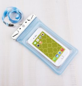 Dry Spell Water Resistant Phone Case - Blue