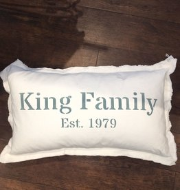 """By You Custom Rectangle Canvas Pillow 18""""x25"""" - Choose Fabric, Style, Ink"""