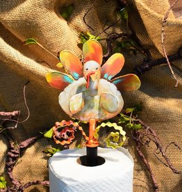 """Celebrate Every Day"" Turkey Finial"