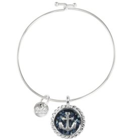 Dune Jewelry Beach Bangle - Anchor - Guam