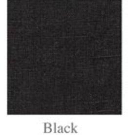 Stonewashed Linen Napkins - Set of 4 - Black