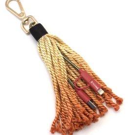 Fringe Benefit USB Cable + Tassel - Red