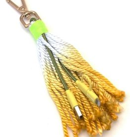Fringe Benefit USB Cable + Tassel - Yellow