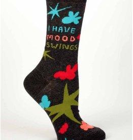 I Have Mood Swing Crew Socks