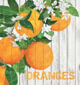 Harvest Oranges Cocktail Beverage Napkins