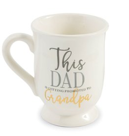 This Dad Is Being Promoted Mug