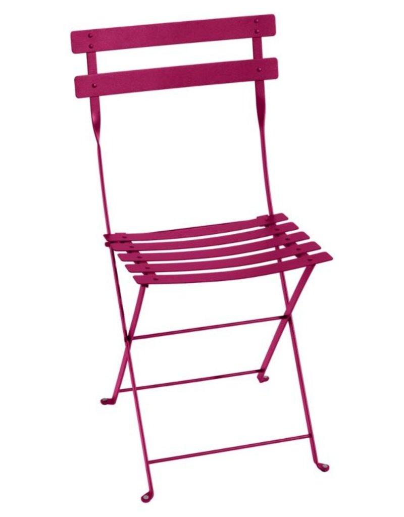 Fermob Bistro Metal Chair - Fuchsia
