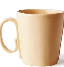 """Vietri Lastra Mug - 4""""H - Cappuccino"""