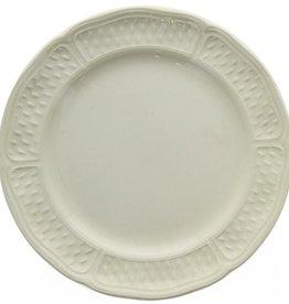 Gien Pont Aux Choux Canape Plate - White