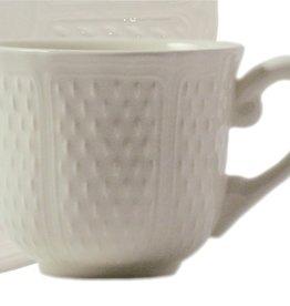 Gien Pont Aux Choux US Tea Cup - White