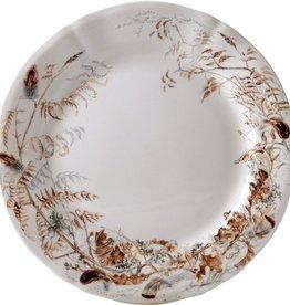 Gien Sologne Dessert/Salad Plate - Foliage