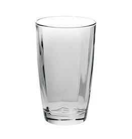 Vietri Optical Smoke Gray High Ball Glass