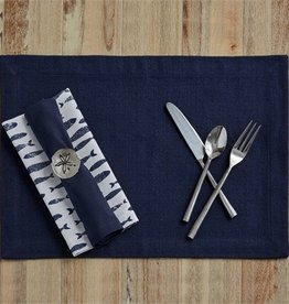 Washed Linen Napkin - Set of 2 - Midnight
