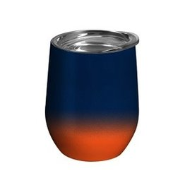 Swig Swig Stemless Wine Cup - Blue & Orange