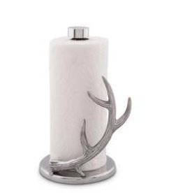 Arthur Court Antler Paper Towel Holder