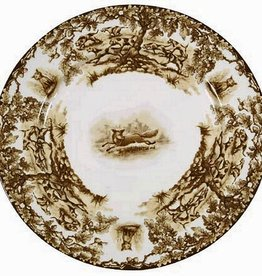 CE Corey Aiken Fox Dessert Plate