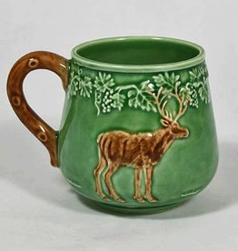 CE Corey Bordallo Deer Mug - Green