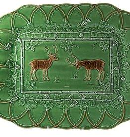 CE Corey Bordallo Deer Platter - Large