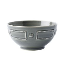 Juliska Berry & Thread French Panel Cereal/Ice Cream Bowl - Stone Grey