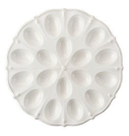 Juliska Berry and Thead Deviled Egg Platter - Whitewash