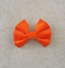 Hot Dog Bowtie - Orange - Small