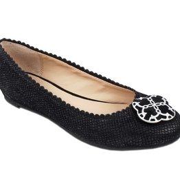 Lindsay Phillips Anna Flat - Black - Size 7