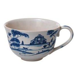 Juliska Country Estate Tea/Coffee Cup Garden Follies Delft Blue