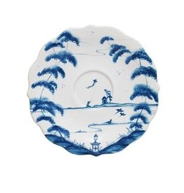 Juliska Country Estate Saucer Garden Follies Delft Blue