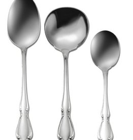 Oneida Chateau 3-Piece Hostess Set - Tablespoon, Ladle, Sugar Spoon