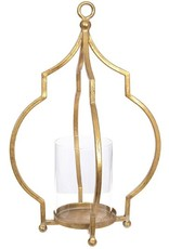 "Open Gold Lantern - 16"""