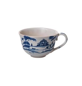 Juliska Country Estate Tea/Coffee Cup Garden Follies Delft Blue