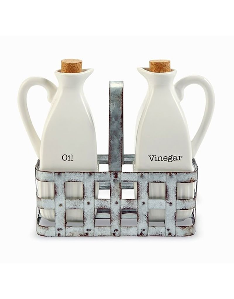 Oil & Vinegar Tine Basket Set