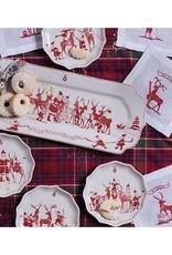 Juliska Country Estate Reindeer Games Hostess Tray