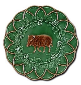 CE Corey Bordallo Scalloped Boar Plate - 9""