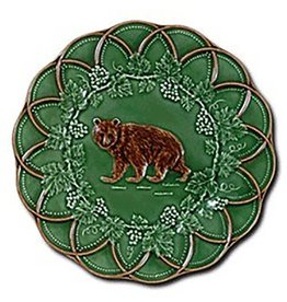 CE Corey Bordallo Scalloped Bear Plate - 9""
