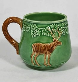 CE Corey Bordallo Deer Mug - Green