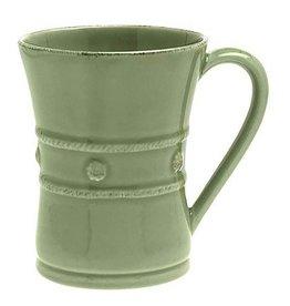 "Juliska Berry and Thread Mug - Pistachio Green - 3.5""W x 4.5""H - 12oz."