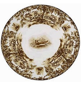 CE Corey Aiken Fox Dinner Plate