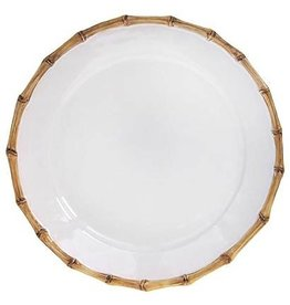 Juliska Classic Bamboo Natural Round Charger/Server Plate - 14""