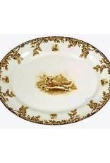 """CE Corey Aiken Oval Platter - 16"""""""