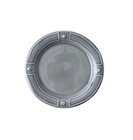 Juliska Berry and Thread French Panel Side Plate - Stone Grey