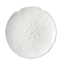 Juliska Berry and Thread Sea Urchin Dessert/Salad Plate - Whitewash - Discontinued