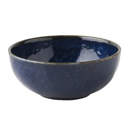 Juliska Discontinued Puro Dappled Cobalt Cereal/Ice Cream Bowl