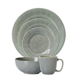 Juliska Puro 5 Piece Place Setting - Mist Grey Crackle
