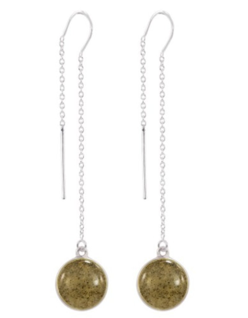 7a4259d12 Dune Jewelry Sandglobe Earrings - Long - Reversible Turquoise/St ...