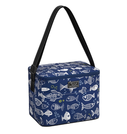 Scout by Bungalow Ferris Cooler Lunch Box - One Fish Blue Fish