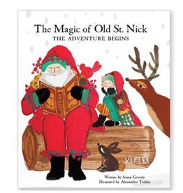 Vietri Old St. Nick The Magic of Old St. Nick: The Adventure Begins Story Book