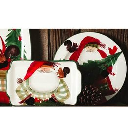 Vietri Old St. Nick 2017 Limited Edition Salad Plate - Gift Boxed