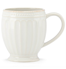 Lenox French Perle Groove White Mug